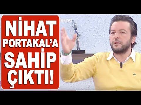 Fatih Portakal 'Korksun' dedi, Nihat Doğan küplere bindi