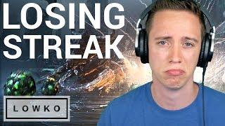 StarCraft 2: I'M ON A LOSING STREAK...