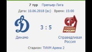 Динамо -  Справедливая Россия 2й тайм01