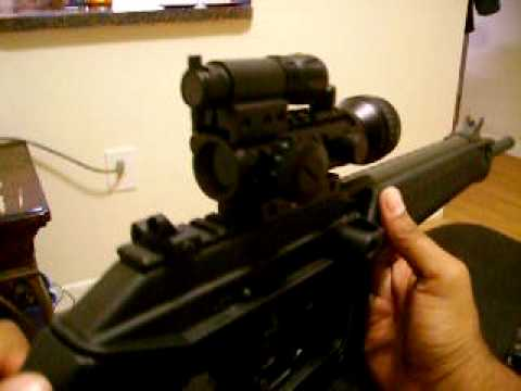 Kel Tec SU 16c  .223 Carbine Review with Accessories