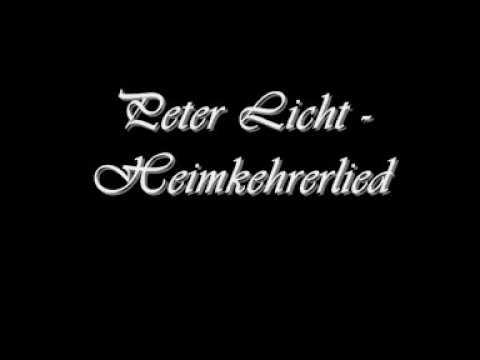 PeterLicht - Heimkehrerlied