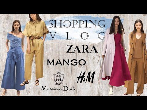 Шоппинг влог: Zara, Massimo Dutti, H&M, Mango // Летние тренды 2019