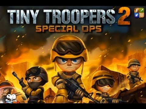 Tiny Troopers 2 Special Ops iPad App Review - CrazyMikesapps