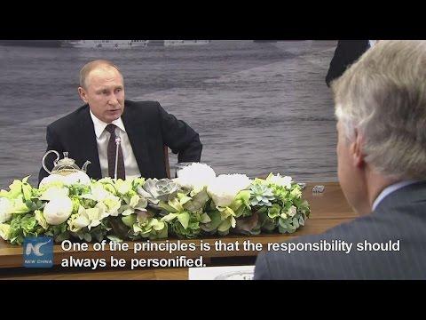 Putin: Olympic disqualification