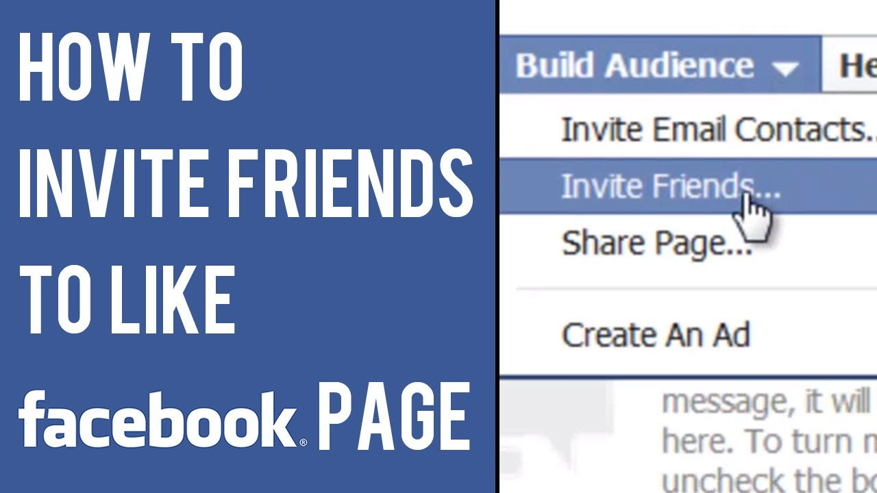 Invite Friends To Like Facebook Page for perfect invitation layout