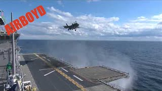 F-35 First Ship Landing - USS Wasp (LHD 1)
