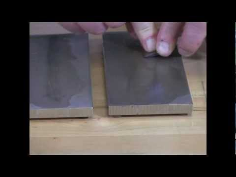 Video of DMT® Plane Iron and  Chisels Part 2 - Sharpening Bevel
