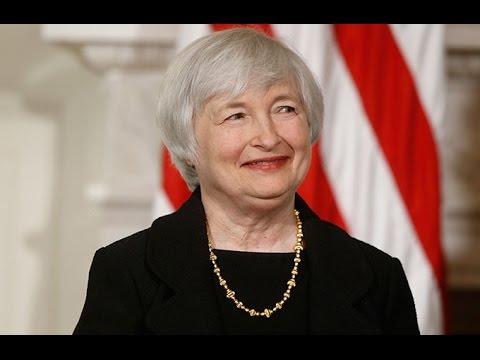 Janet Yellen Talks On Gradual Hike