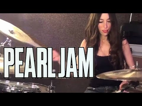 PEARL JAM - EVEN FLOW - DRUM COVER BY MEYTAL COHEN