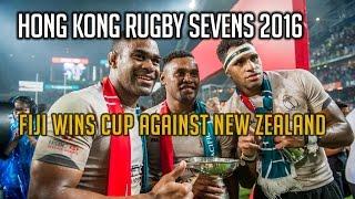 HONG KONG SEVENS 2016 Fiji wins cup against New Zealand