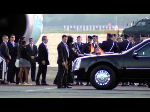 Raw: Obama Arrives in Berlin