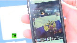Американец, развернувший флаг России на ОИ-2018: Российские атлеты должны быть наравне со всеми