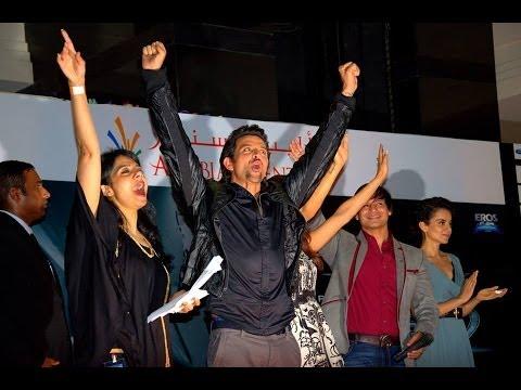 Hrihik Roshans  Performance at Krrish 3 Promotions in Dubai