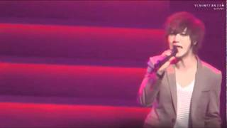 [Yesung focus] 101201 A person of destiny @K.R.Y concert Fukuoka