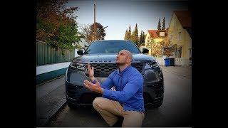COLLECTING NEW CAR: RANGE ROVER VELAR 2018
