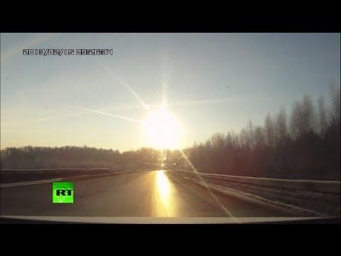 Над Уралом прошел метеоритный дождь