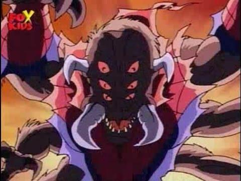 Монстр паук против Карателя и Крэйвен охотника   Человек паук 1994 Мультсериал