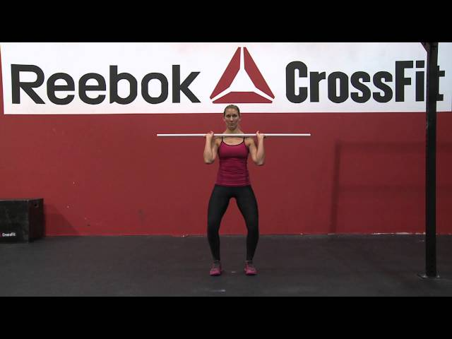 "Reebok CrossFit ONE Movement Demo ""Push Press"""