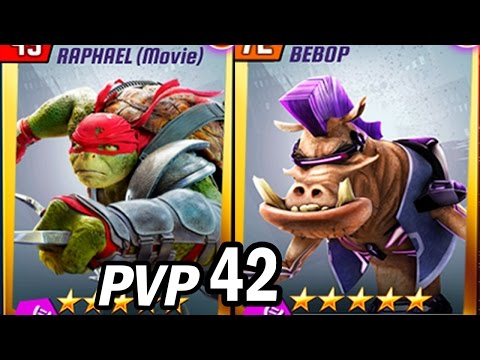 TMNT Legends PVP #42 (Raphael The Movie & Bebop)