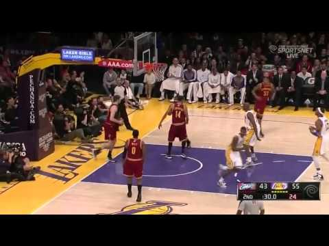 Cavaliers vs Lakers Highlights(1.13.2013)