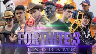 FORTNITE EN LA VIDA REAL 3 ENDGAME! - LA SERIE - Changovisión - (La película, Parodia Engame)