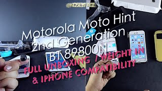New Motorola Moto Hint 2nd Generation works with iPhone Bluetooth Headset 89800N - iPhone 6 Test