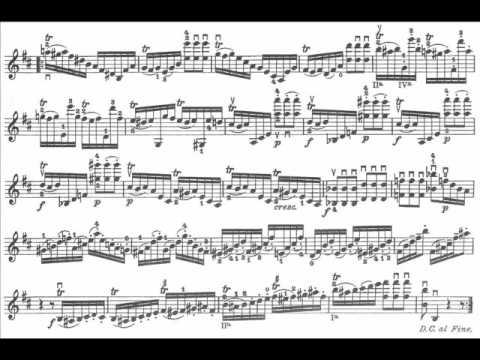 Paganini, Niccolò Caprice 19,20,21 op.1