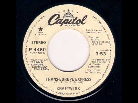 Kraftwerk - Trans-Europe Express (1978)