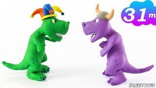 T-REX DINOSAUR Cartoon - Kids Costume Dress-Up Show