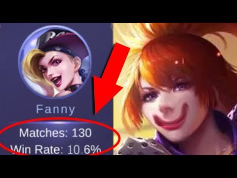 Best Fanny In The World 10.6% Winrate Mobile Legends