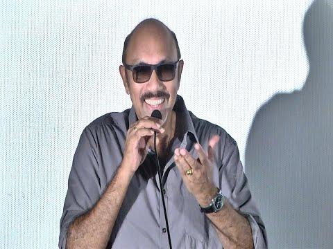 "Sathyaraj - ""SS Rajamouli requested me not to joke around "" - Night Show Trailer Launch - BW"