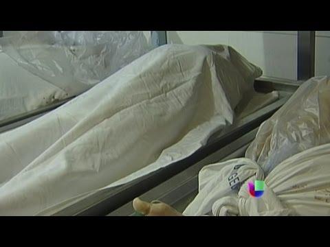Exceso de cadáveres en la morgue de Los Ángeles  - Noticiero Univisión