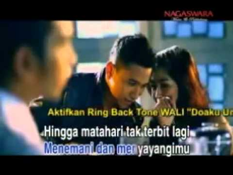 Wali Band   Doaku Untukmu Sayang Karaoke Original Clip video