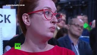 Навальный о вопросе Путину от Татьяны Фельгенгауэр (ЭХО МОСКВЫ)