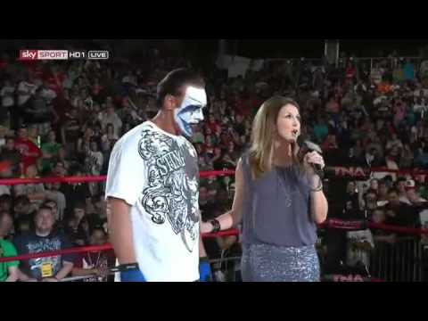The Icon Sting The First Tna Hall Of Fame # Wwe Arab. video