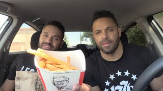 Eating KFC's New French Fries