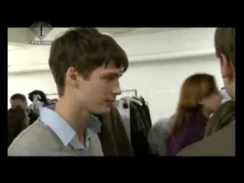 Marni Menswear FW08 Backstage Video
