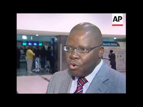 MDC Sec Gen Tendai Biti leaves to return to Zimbabwe
