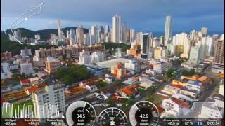 Range Test 850 metros - Cidade - Parrot Bebop 2