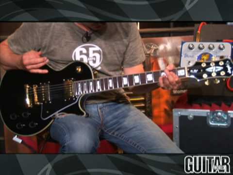 Ibanez Flying Pan, Tube King And Jemini Stomp Boxes video