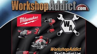WorkshopAddict Tool Bucket Giveaway - Milwaukee Tools