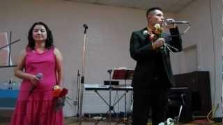 Tee Vang ft. Cha Mee Xiong- Wb Mam Sib Hlub Live