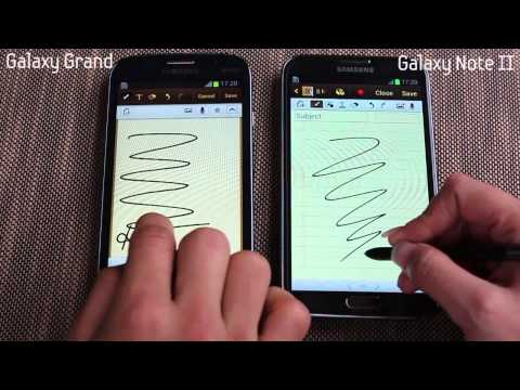 Galaxy Grand vs. Note 2 (N7100)