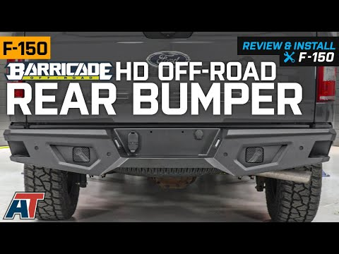 2015-2019 F150 Barricade HD Off-Road Rear Bumper Review & Install