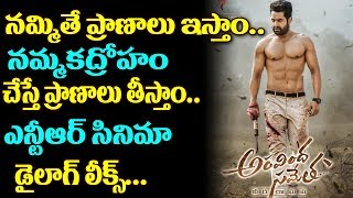 Aravinda Sametha Veera Raghava Movie Dialogue Goes Viral | Jr NTR New Movie Updates | TTM