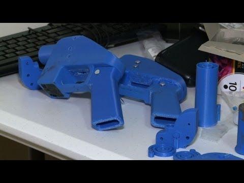 Pistolas impresas en 3D