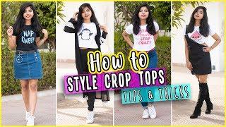 How to Style Crop Tops| मोटापे में Crop Top कैसे स्टाइल करे