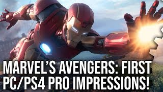 [4K] Marvel's Avengers First Impressions: Brilliant On PC But What About PS4 Pro?