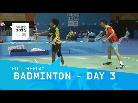 Badminton - Group Stages Mixed Doubles | Full Replay | Nanjing 2014 Youth Olympic Games
