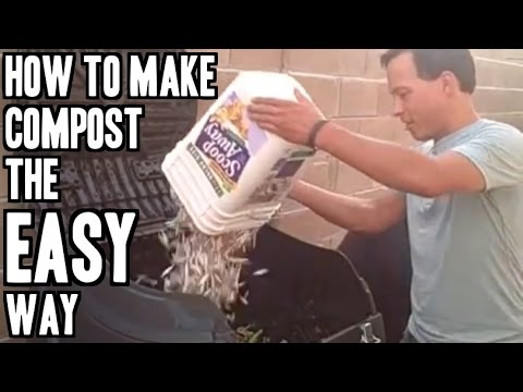 How to Make Compost the Easy Way